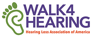Walk4Hearing logo