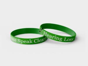 Hearing Loss wristband